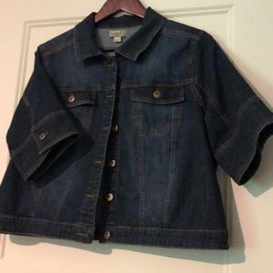 ONE WORLD Jackets & Coats - Awesome jean jacket! One World